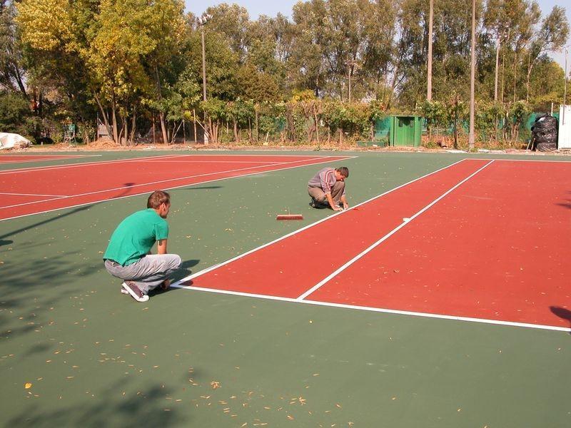 Pozostałe zdjęcia kort tenisowy nawierzchnia Casali 5